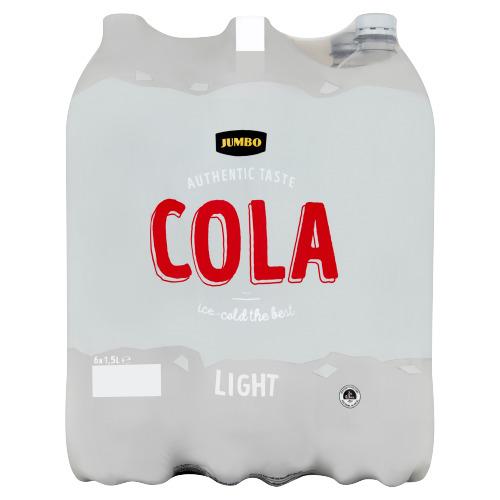 JUMBO Cola Light 6 x 1,5 L (6 × 1.5L)