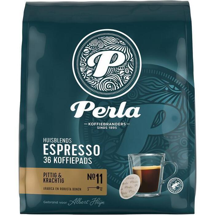 Perla Huisblends Pads espresso