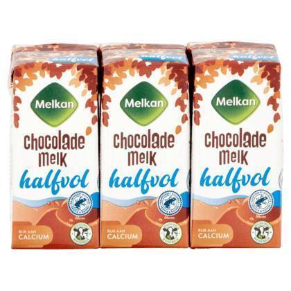 Chocolademelk halfvol 6 x 200 ml (1.2ml)