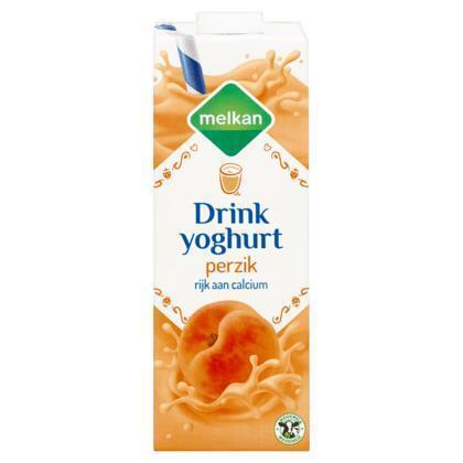 Drinkyoghurt perzik (1L)