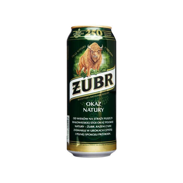 Zubr (blik, 0.5L)