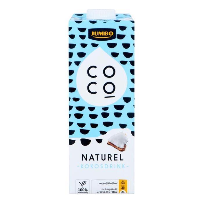 Jumbo Kokosdrink Naturel 1 L (1L)