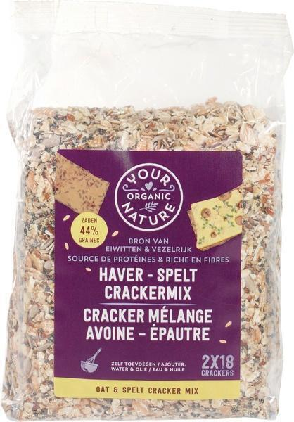 Haver - spelt Crackermix (500g)