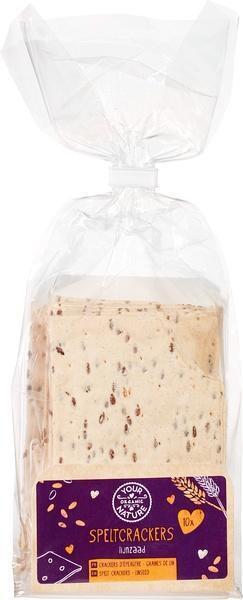 Speltcrackers lijnzaad (10 st.)