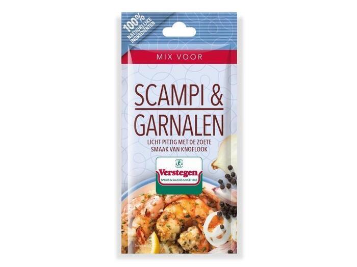 Verstegen Mix voor scampi & garnalen 12 gr (13g)