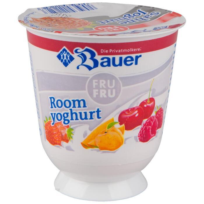 Fru Fru Roomyoghurt aardbei (bak, 150ml)