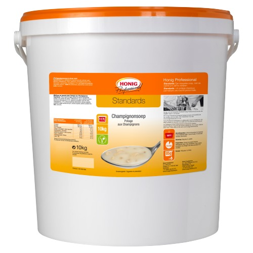 Honig Professional Standards Champignonsoep 10 kg (10kg)