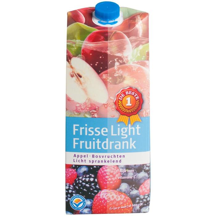 Frisse light fruitdrank appel/bosvruchten (1.5L)