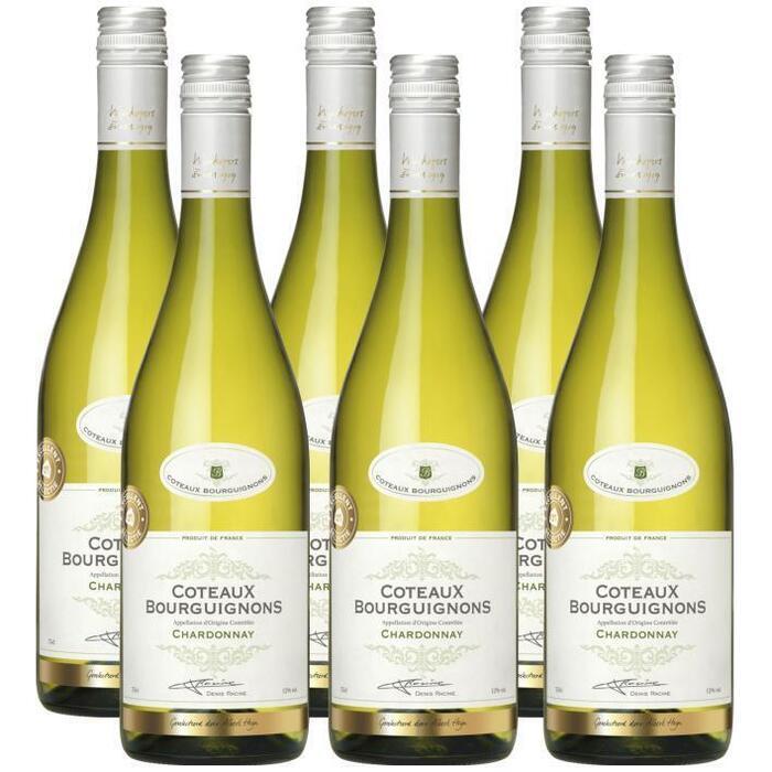 AH Excellent Selectie Coteaux Bourguignons Chardonnay (6 × 0.75L)