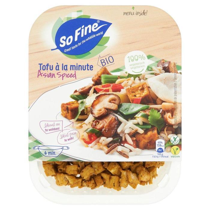 Tofu à la minute Asian Spiced (Stuk, 180g)