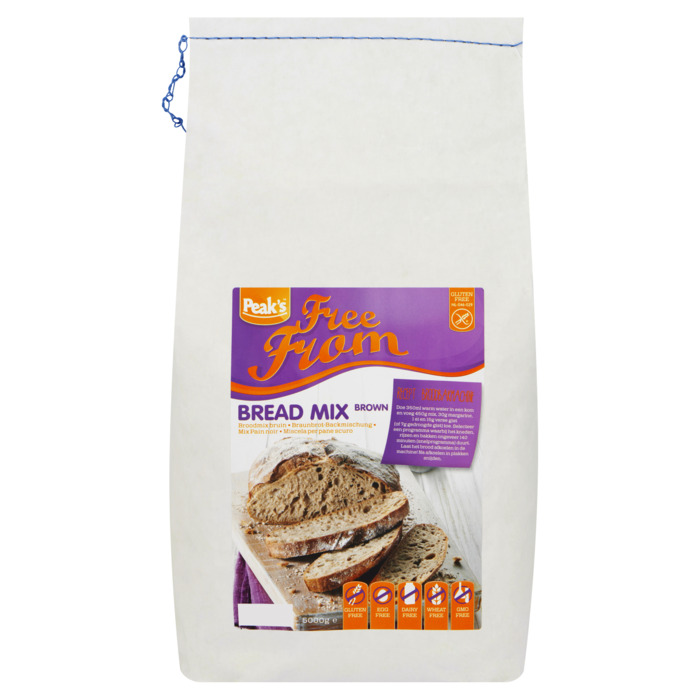 Peak's Free From Broodmix Bruin 5000g (5kg)