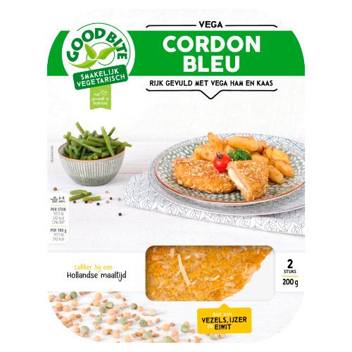 GoodBite Vegetarische Cordon Bleu (2 × 100g)