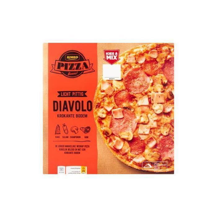 Jumbo Pizza Diavolo 330 g (330g)