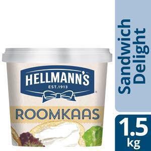 Hellmann's Sandw Roomkaas 1.5Kg 1X (1.5kg)