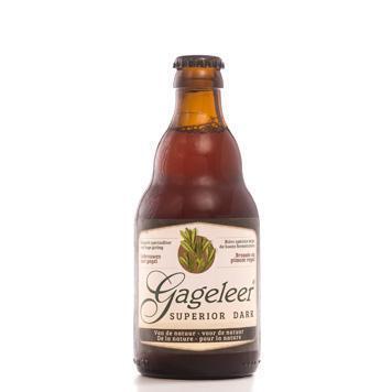Gageleer superior dark bier (33cl)