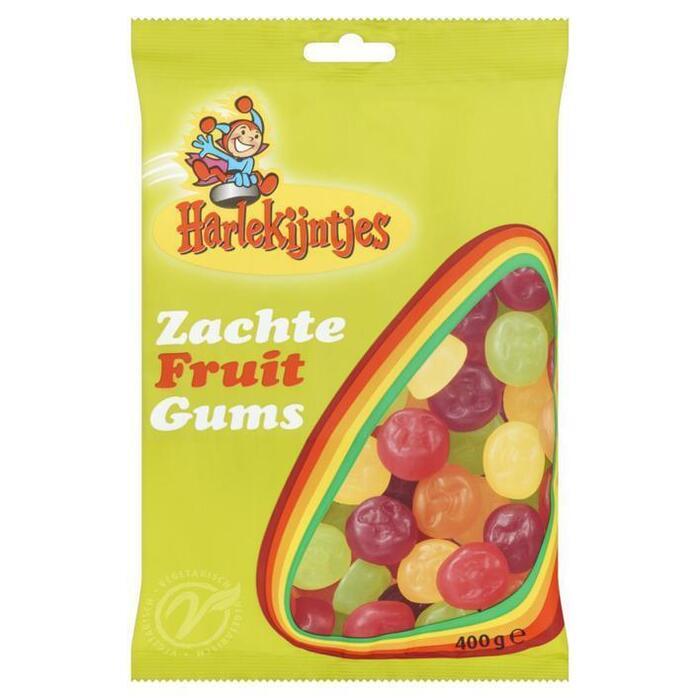 Zachte fruitgum veggie (400g)