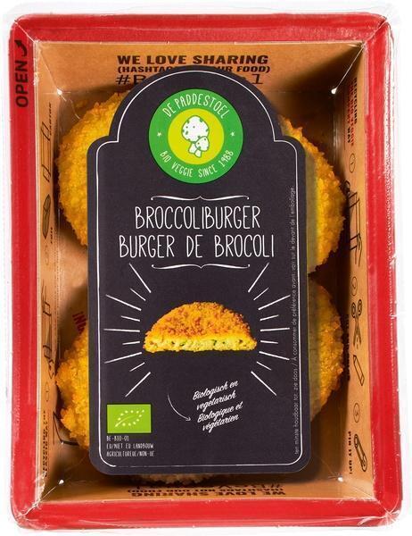 Broccoliburger (bak, 180g)
