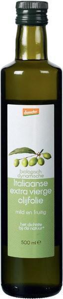 Italiaanse extra vierge olijfolie (glas, 0.5L)