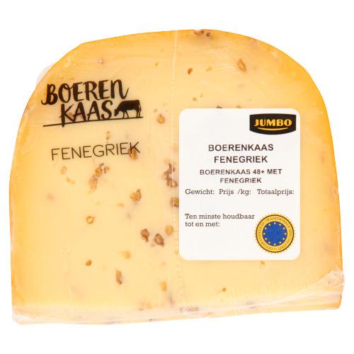 Jumbo Boerenkaas Fenegriek 48+ ca. 381 g