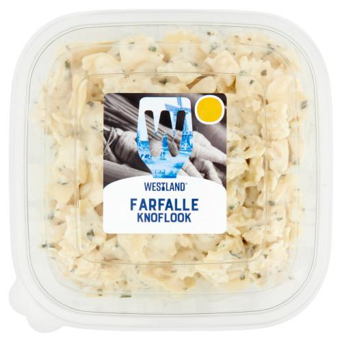 Westland Pastasalade Farfalle Knoflook 450 g Bakje (450g)