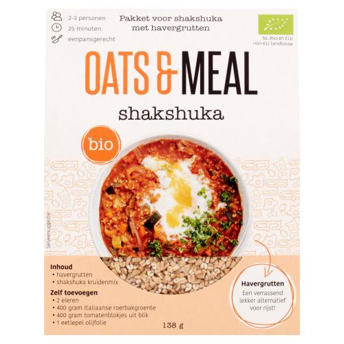 Oats & Meal Shakshuka Bio 138 g (138g)