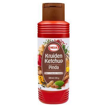 Hela Kruiden Ketchup Pinda 300ml fles (30cl)