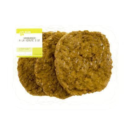 Hamburger a la minute 3 stuks (300g)