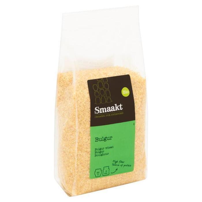 Smaakt Biologisch Bulgur 400 g (Stuk, 400g)
