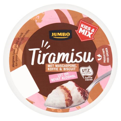 Jumbo Tiramisu met Koffie en Biscuit 80g (80g)