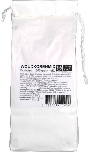 Woudkoren broodmix (500g)