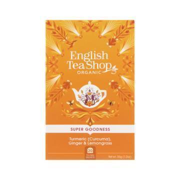 English Tea Shop Tea turmeric, ginger & lemongrass bio (35g)