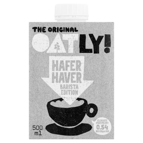 Oatly The Original Haver Barista Edition 500 ml