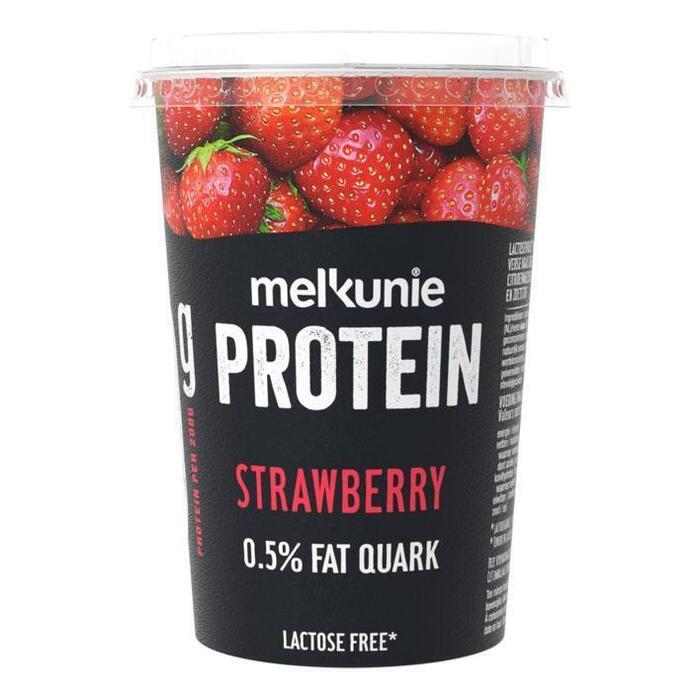 Melkunie Protein Kwark Aardbei 450g (450g)
