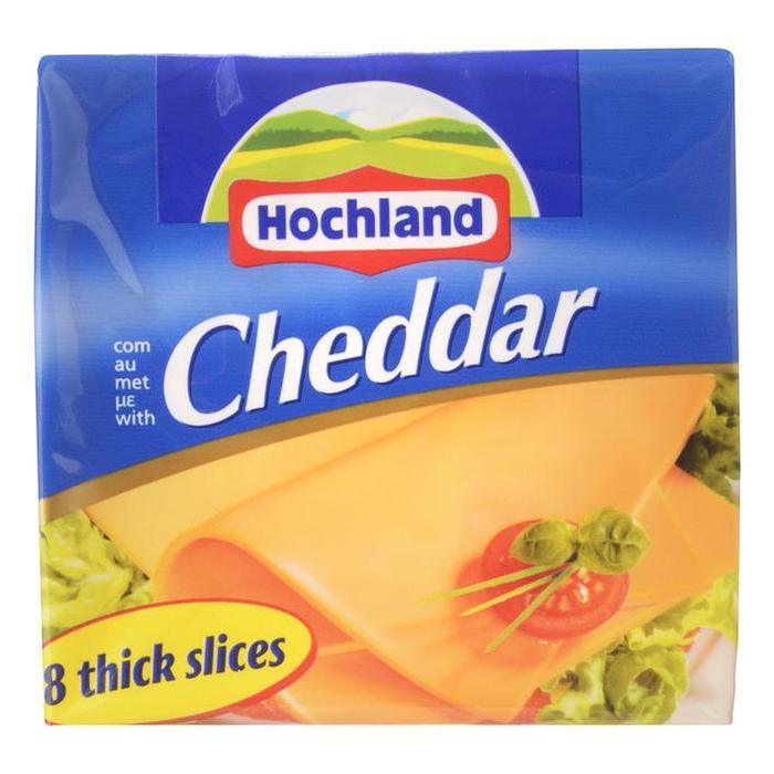 Kaas Cheddar plakken (Stuk, 200g)