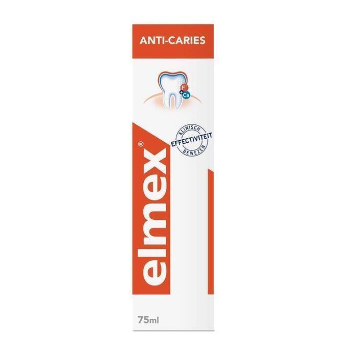 Elmex Anti-Cariës Tandpasta 75ml (75ml)