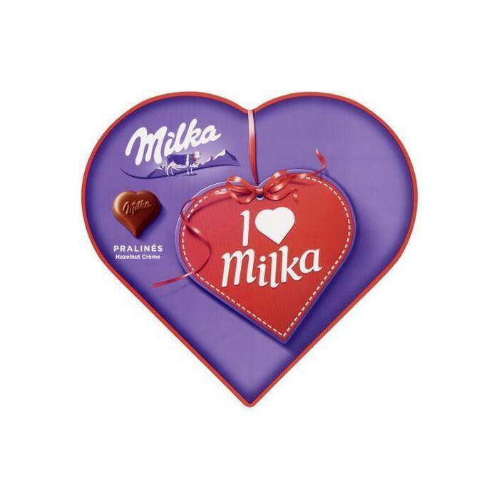 Milka I love Milka hart (165g)