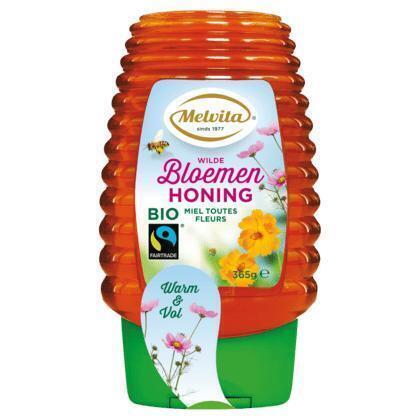 Melvita Biologische Fairtrade Bloemenhoning 365 g (365g)