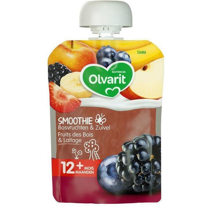 12M866 Bosvruchten fruit yoghurt (90g)