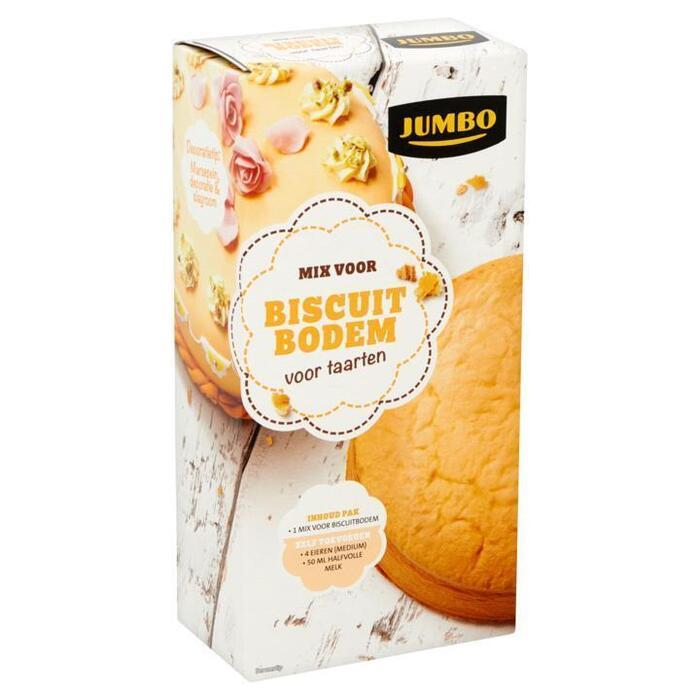 Jumbo Mix voor Biscuit Bodem voor Taarten 250g (250g)