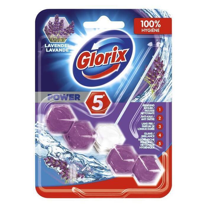 Glorix WC blok lavendel (stuk, 55g)