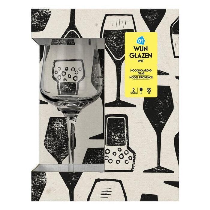 AH Witte wijnglazen model Provence (2 st.)