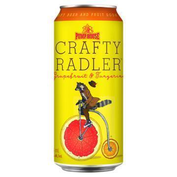 Pump House Craft Beer & Fruit Soda Crafty Radler Grapefruit & Tangerine 473 ml (47.3cl)