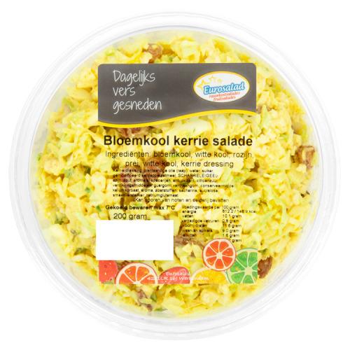 Eurosalad Bloemkool Kerrie Salade 200 g (200g)