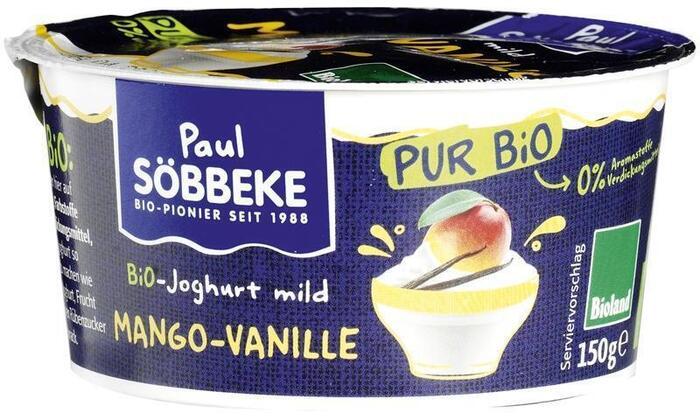 Pur mango-vanille yoghurt (150g)