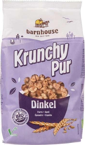 Krunchy pur spelt (zonder suiker) (375g)