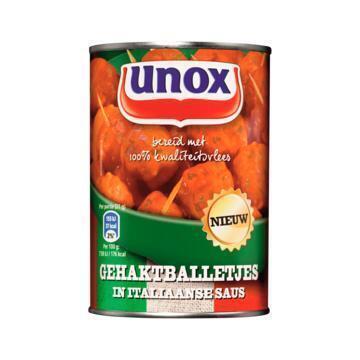 Gehaktballetjes in Italiaanse saus (blik, 420g)