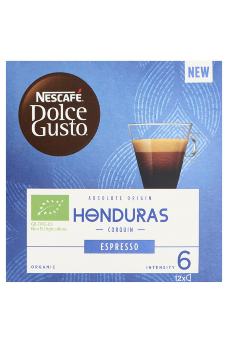 Nescafé Dolce Gusto Honduras Espresso 12 x 6 g (12 × 72g)