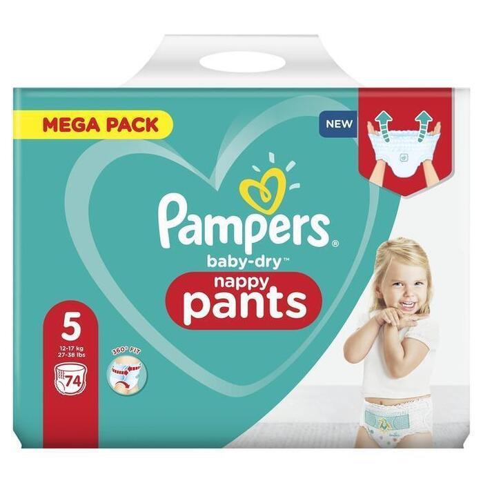 Pampers Baby-dry luierbroekjes maat 5