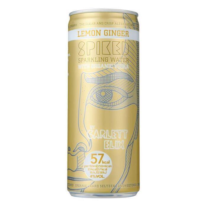 Spiked Carlett elix lemon ginger (250ml)