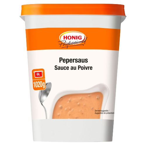 Honig Professional Pepersaus 1020 g Beker/kuipje (1.02kg)